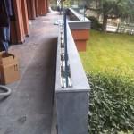 Bazalt balkon zemin, küpeşte ve korkuluk