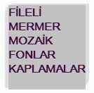 FİLELİ MERMER,MOZAİK,FON