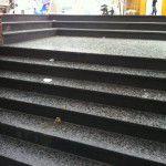 bazalt basamak çiseli