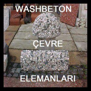 WASH BETON ÇEVRE ELEMANLARI