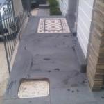 bazalt patineli ve karosiman giriş