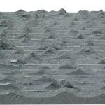 taraklı kırma bazalt kaplama