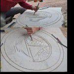 kandıra taş el işçiligi, logo yazma