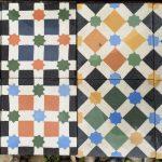 aynı desen farklı bakış paralel ve diyagonal