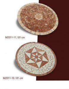 mermer mozaik madalyon 10-11