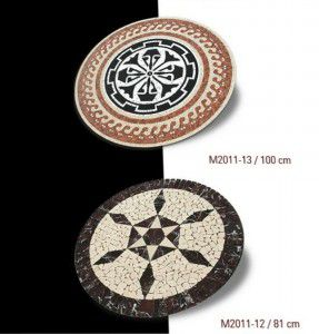 mermer mozaik madalyon 12-13