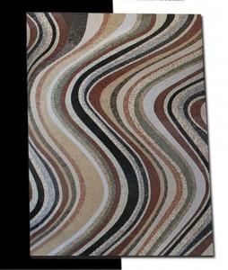 Fileli mermer mozaik halı 280 x 400 cm
