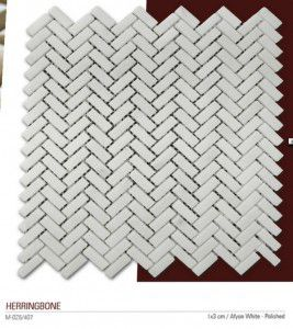 Herringbone filelimermer mozaik