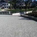 klasik wash beton şehir parkı