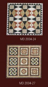 mermer mozaik madalyon 24 -27