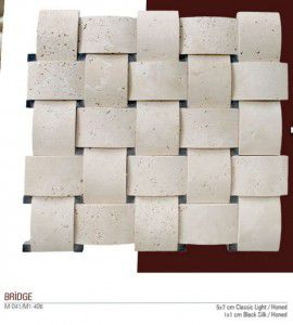 Bridge Fileli mermer mozaik