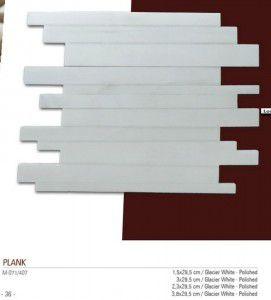 Plank Fileli mermer mozaik