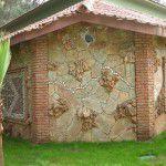 dekoratif fosilli kayrak