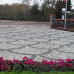 granit , bazalt küptaş park