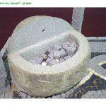 granit çeşme el oyması