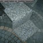 wash beton 40X40 MODÜLER BASAMAK