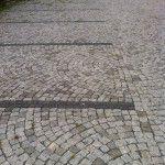 granit küptaş Oto park sahası