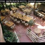 antik, rustik zemin kotto 2x20x20