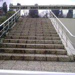 modüler wash beton basamaklar