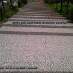 wash beton prekast basamaklar