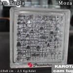 paşabahçe şeffaf mozaik