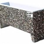 wash beton çiçeklik