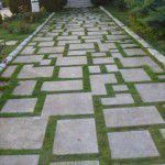 kandıra taşı kaplama çim derzli pattern