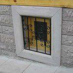 Pencere sövesi ve çarpma taş