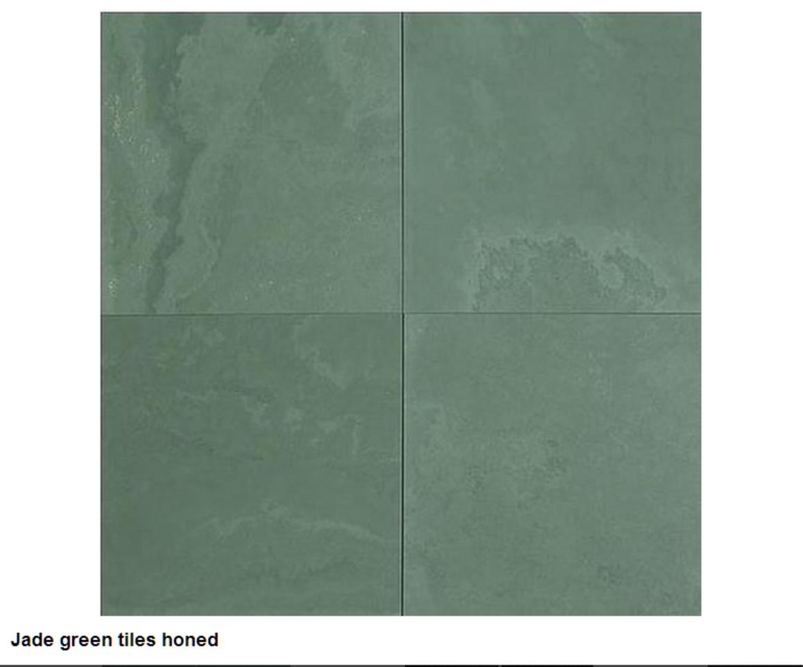 Jede green tiles, Honlu