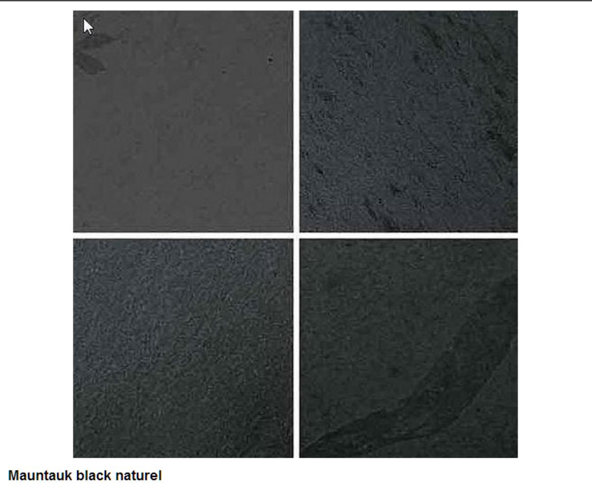 Mauntauk black, naturel