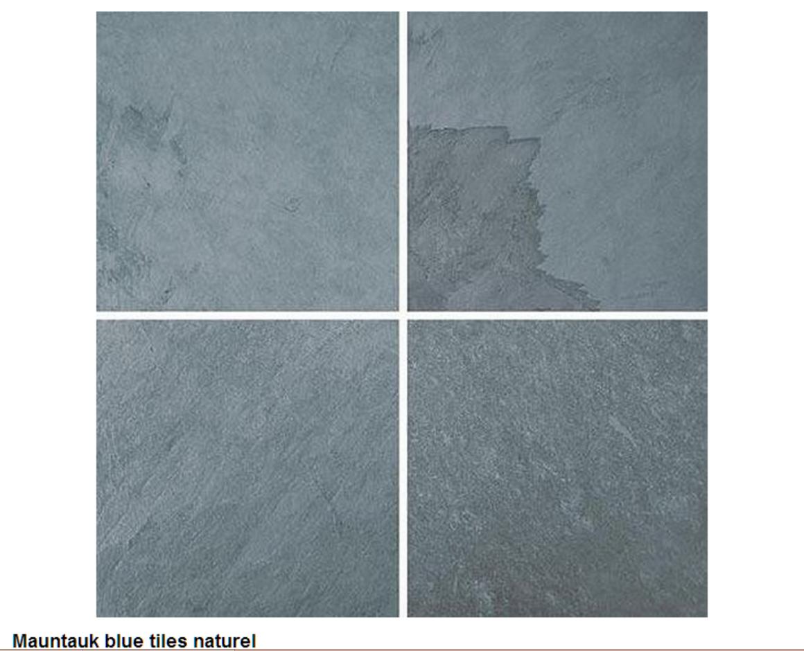 Mauntauk blue tiles naturel