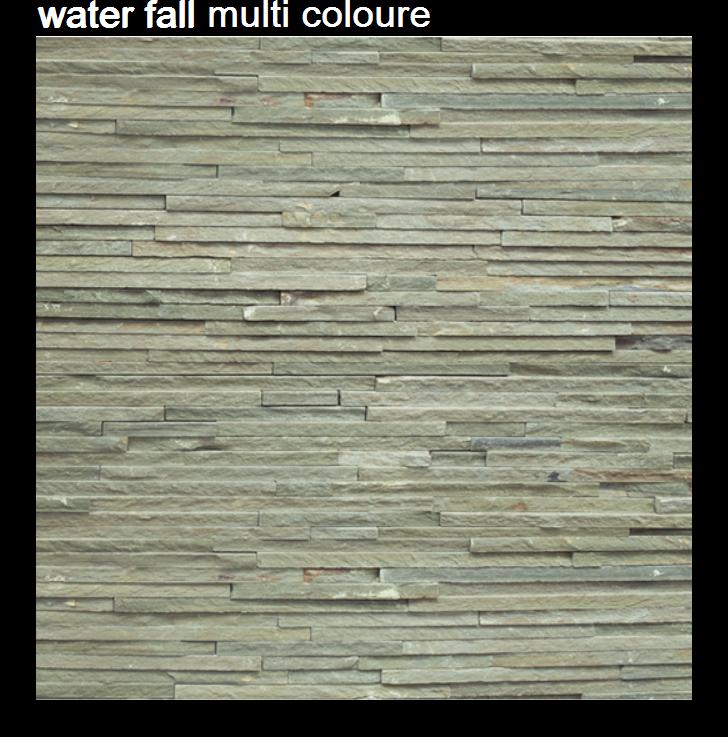 water fall multi color