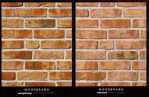 MOORBRAND sand gelb bunt --- lehm bunt