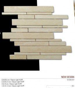 New design Fileli mermer mozaik