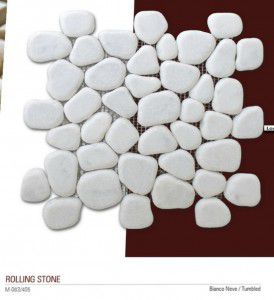 Rolling stones Fileli mermer mozaik