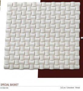 Special basket Fileli mermer mozaik