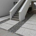 wash beton basamak ve sahanlık