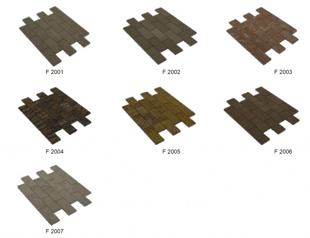 brick mosaik 4,9x9,8