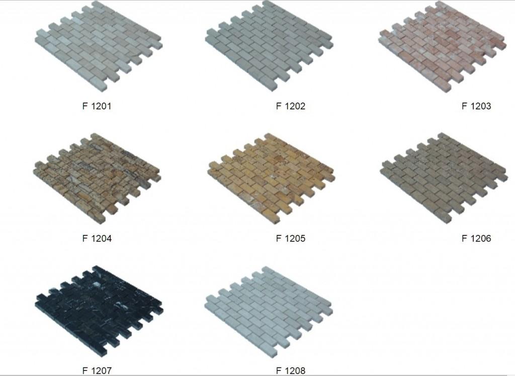 brick mosaik 2,3x4,9